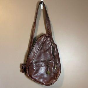 Frye genuine leather one strap bag